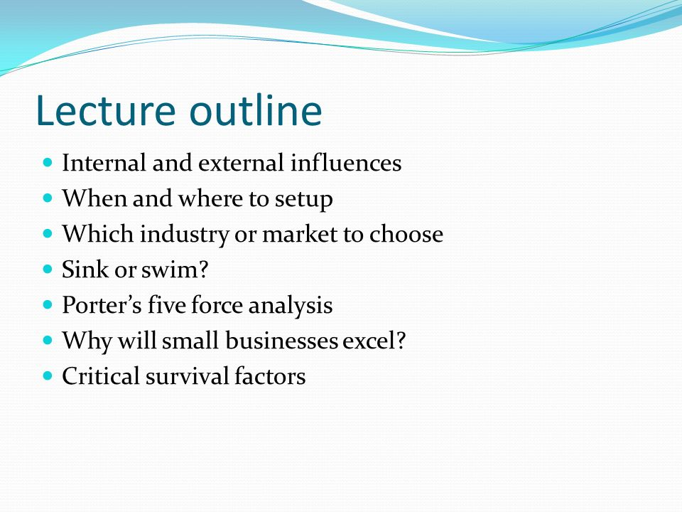 internal and external influences Working for this report has definitely enriched our knowledge about the external and internal environment analysis, swot analysis the external environment includes all relevant factors & influences outside the documents similar to woolworths ltd - a case study report skip carousel.