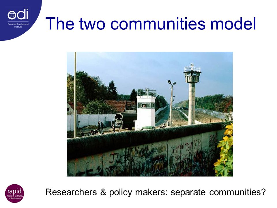 The two communities model