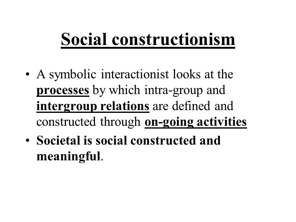 max weber and symbolic interaction ism Max weber (1864-1920) was one of the founding fathers of sociology  the  individual – symbolic interactionism argues that individuals have.