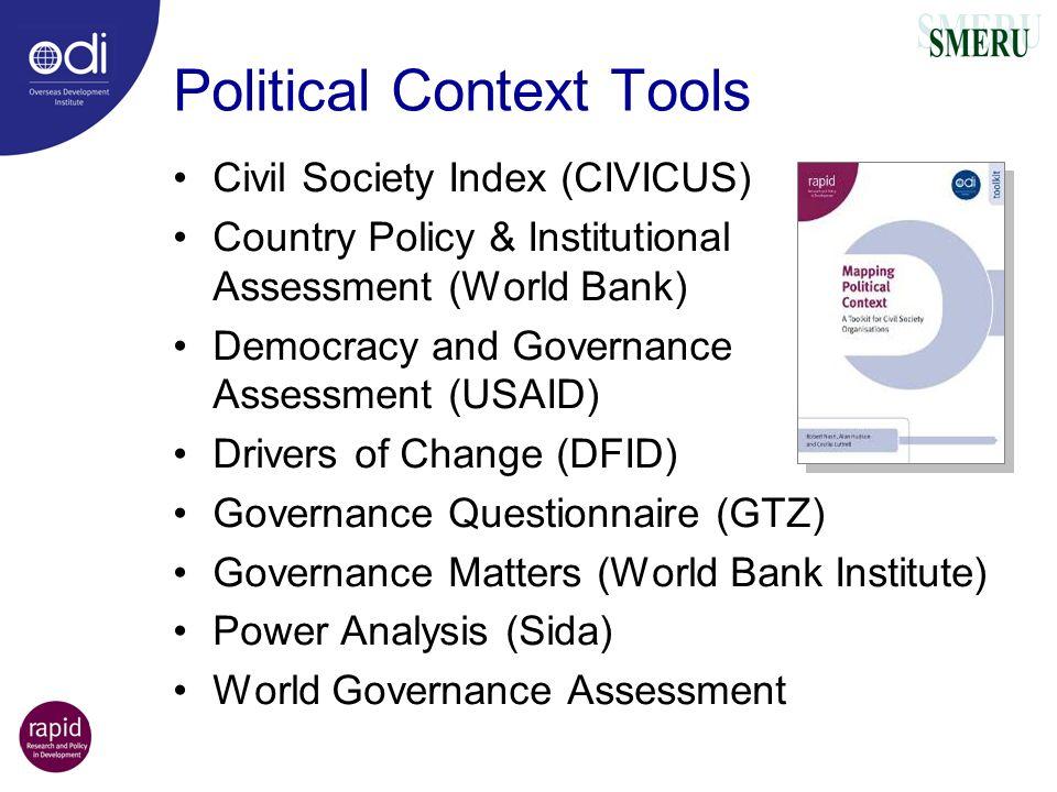 Political Context Tools