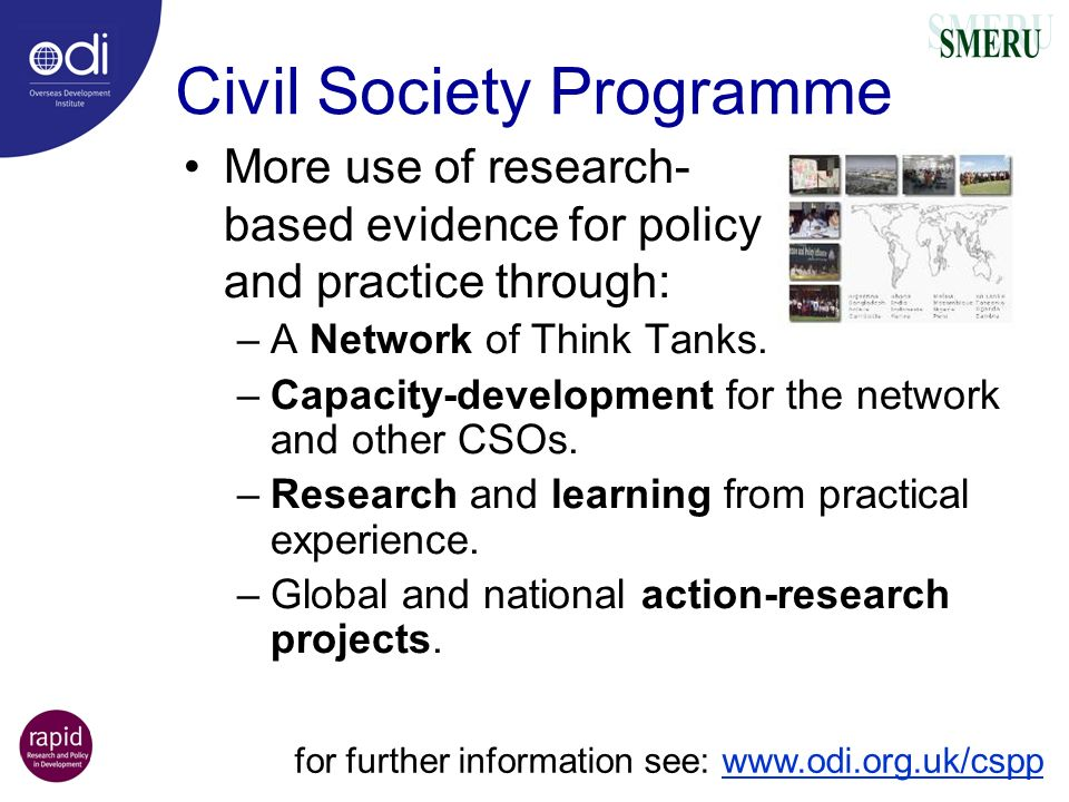 Civil Society Programme