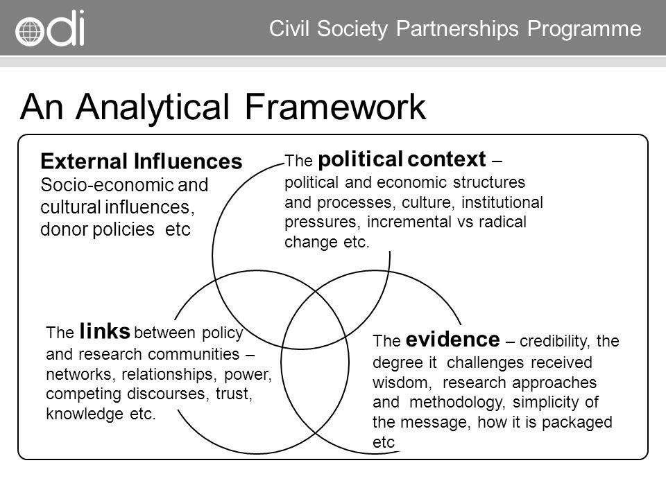 An Analytical Framework