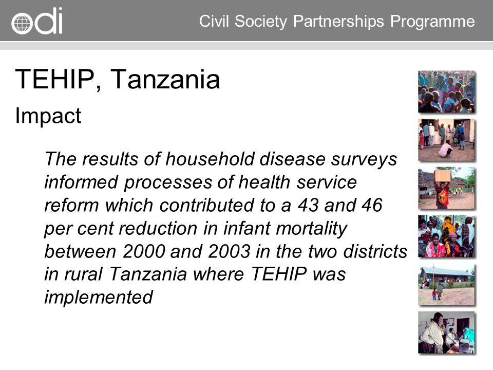 TEHIP, Tanzania Impact.