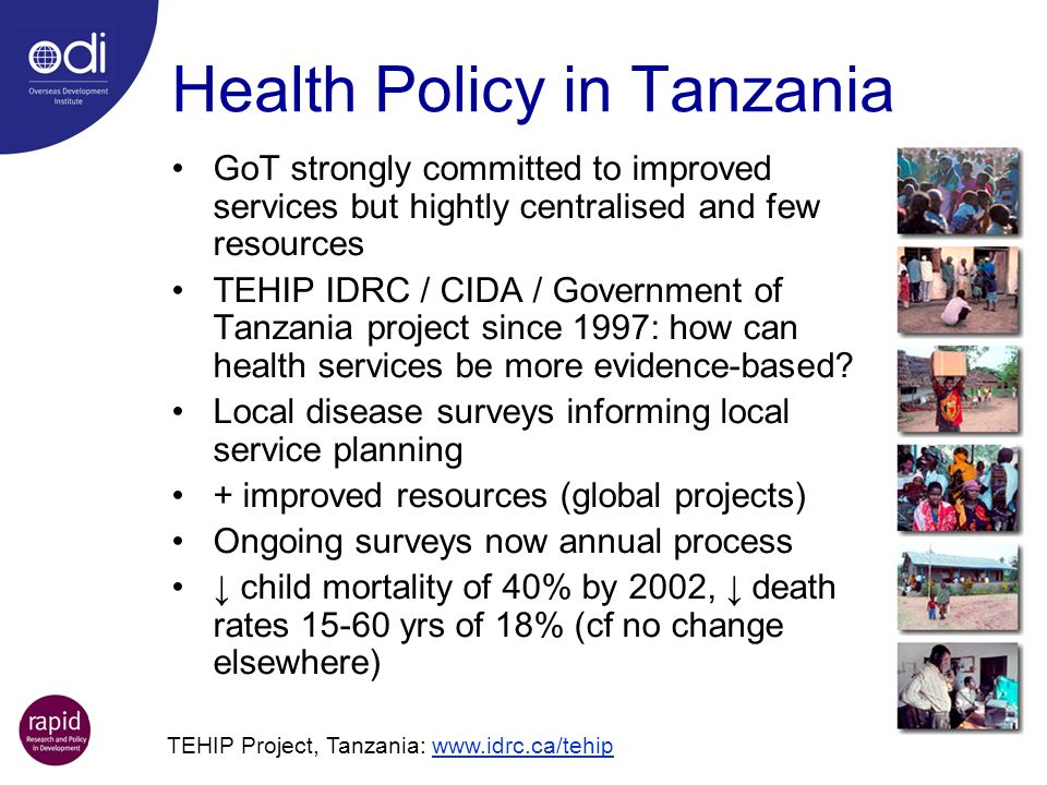 Health Policy in Tanzania