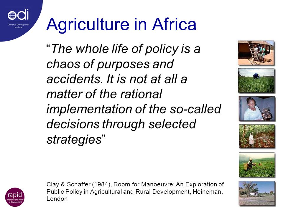 Agriculture in Africa