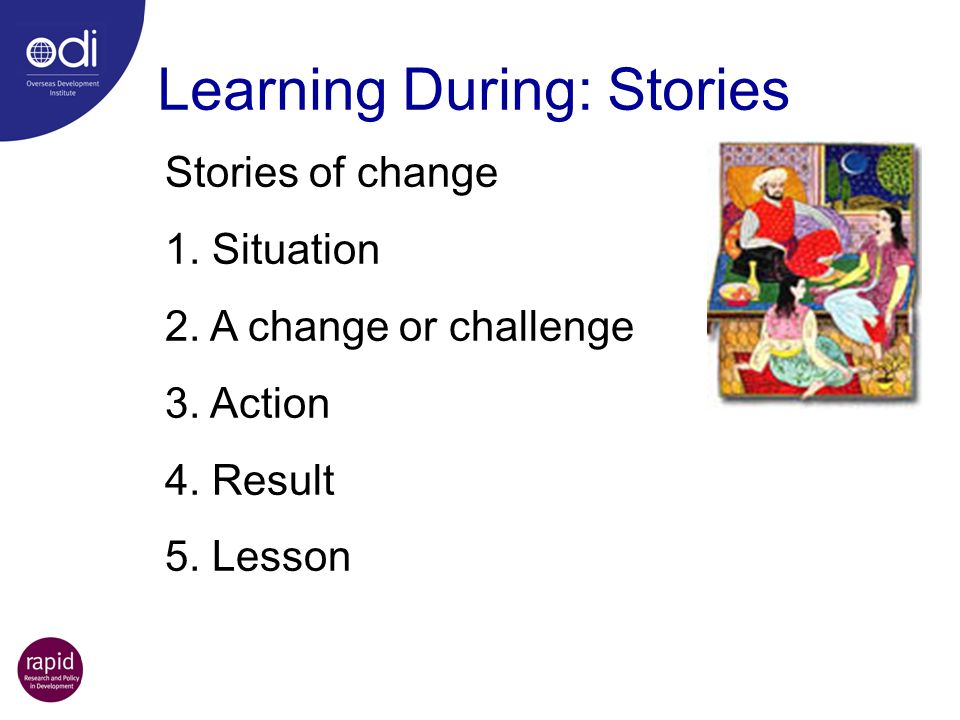 Learning During: Stories