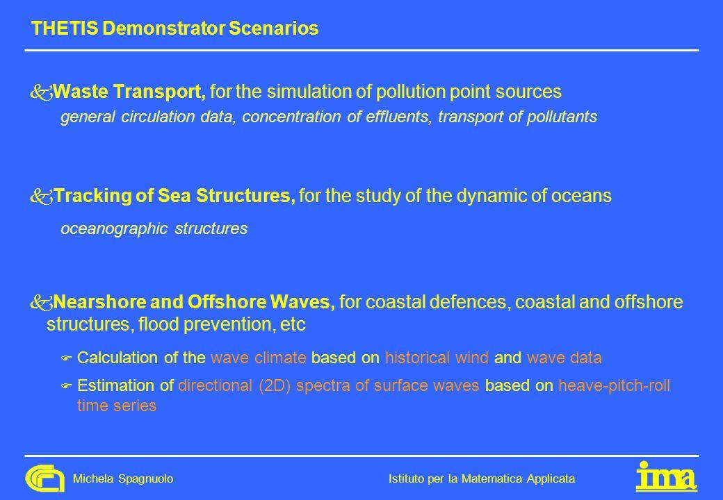 THETIS Demonstrator Scenarios