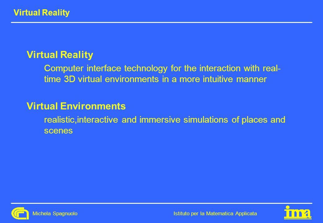 Virtual Reality Virtual Environments