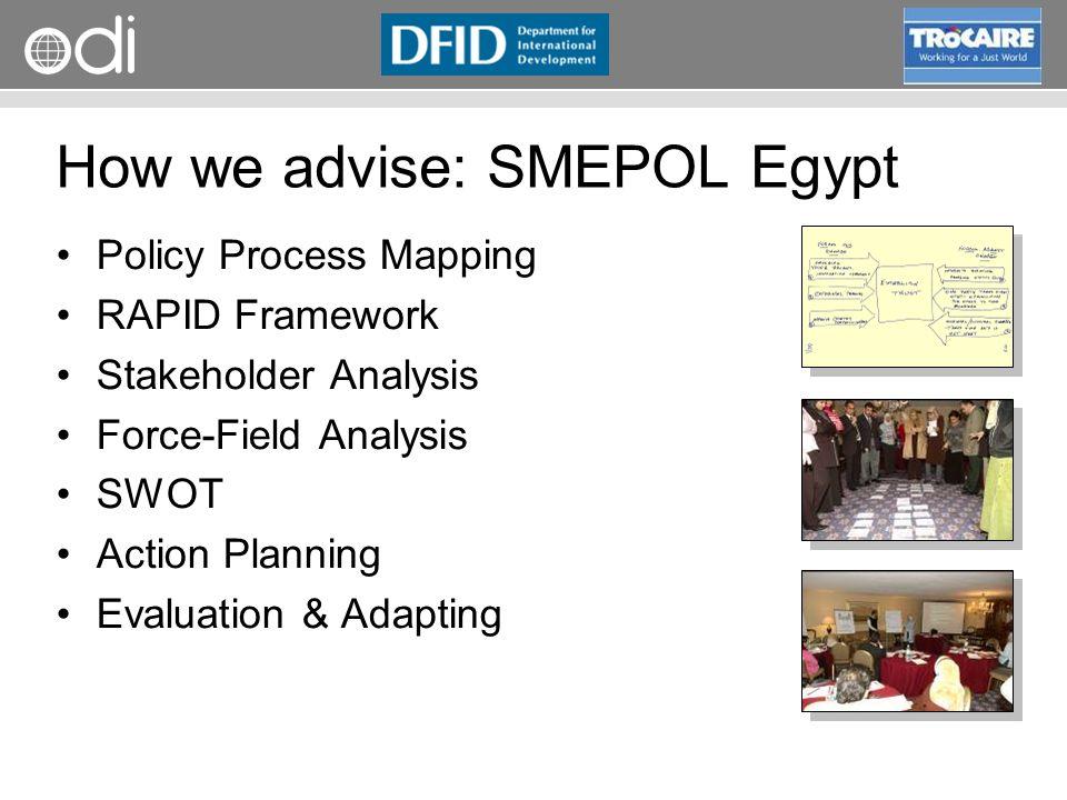 How we advise: SMEPOL Egypt