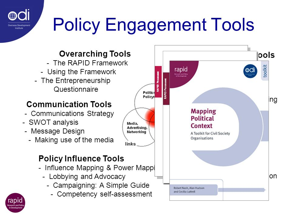 Policy Engagement Tools