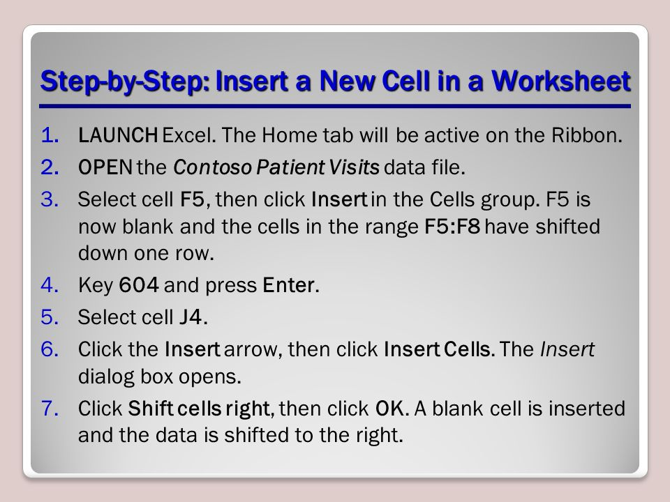 Ing Endings Worksheet Pdf Formatting Cells And Ranges  Ppt Download Percentages Of Whole Numbers Worksheet Word with Homeschool English Worksheets Pdf Stepbystep Insert A New Cell In A Worksheet Community Helpers Worksheets For Kids