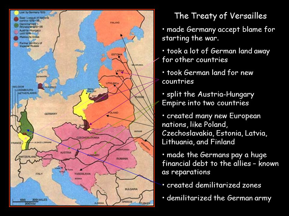 understanding the problems caused by the treaty of versailles on germany The treaty of versailles he could not understand how an advanced civilisation could have reduced itself so that it had created so much devastation so what exactly did the treaty do to germany the terms of the treaty of versailles.
