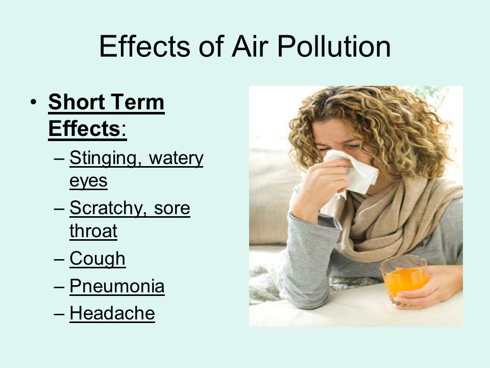 The Causes of Air Pollution And Its Effect on Human Health