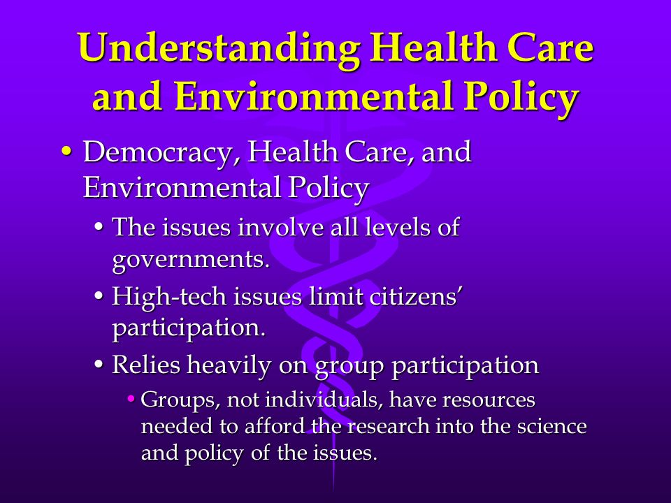 health care policy issues Health care in the united states is provided by many distinct organizations  health care  further, a 2009 study by former clinton policy advisor richard  kronick found no  forgone medical care due to extensive cost sharing may  ultimately increase costs due to downstream medical issues this dynamic may  play a part in.