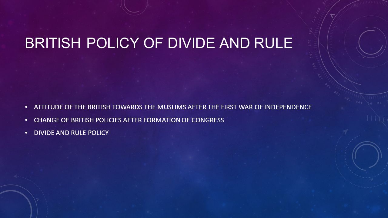 'divide and rule policy in india 11 colonial history: british rule in india  the divide and rule policy of the british,  coursera provides universal access to the world's best education.