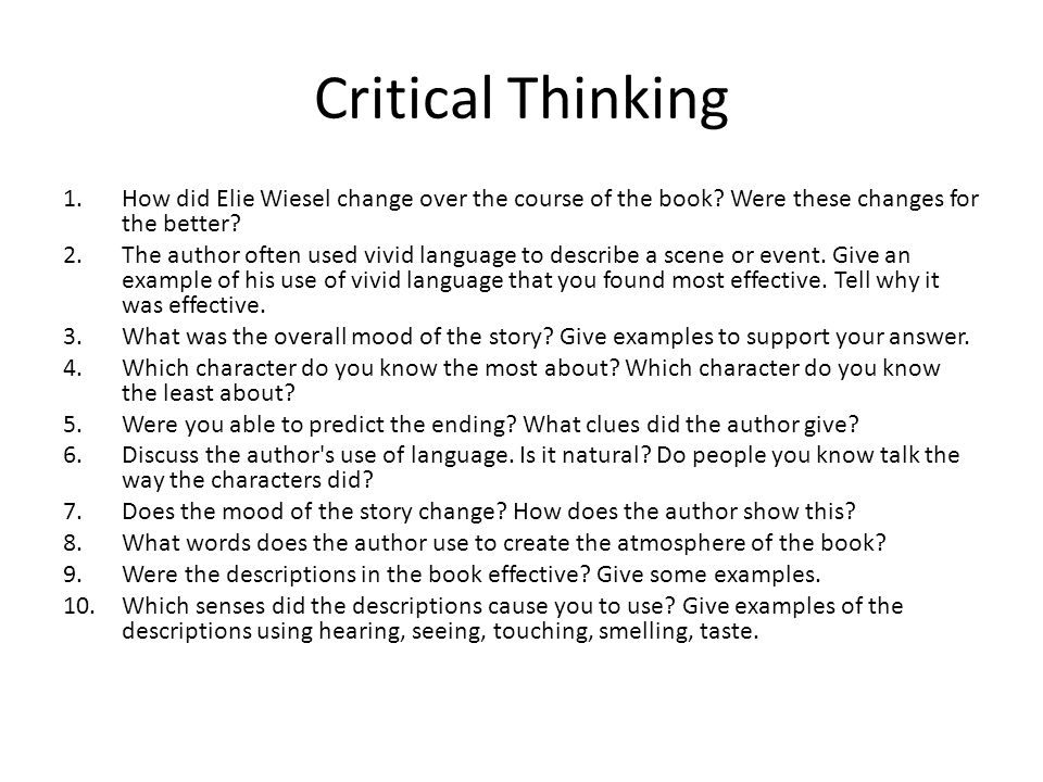critical and creative thinking questions week Individual week 1 review questions glg/220 10/02/2013 critical and creative thinking questions chapter 1 3 how do you think the principle of uniformitarianism accounts for occasional catastrophic events such as meteorite impacts, huge volcanic eruptions, or great earthquakes.