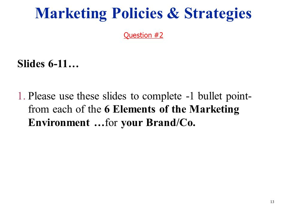 Sales and Marketing Policies and Procedures Manual ...