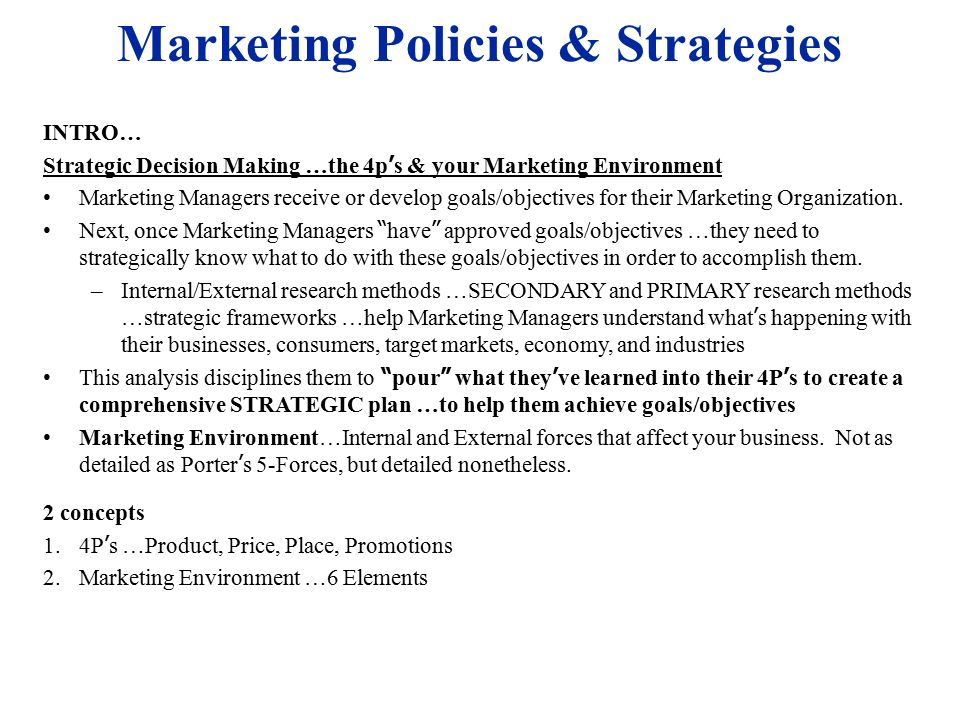 8 Types of Marketing Strategies and Definition – Yodiz ...