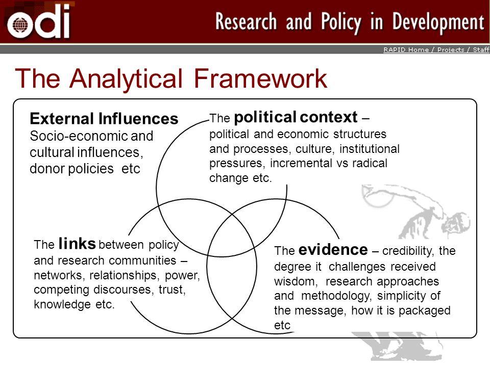 The Analytical Framework