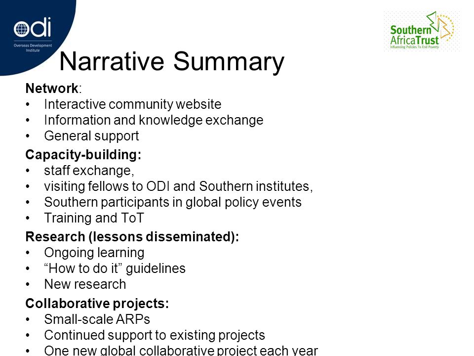 Narrative Summary Network: Interactive community website