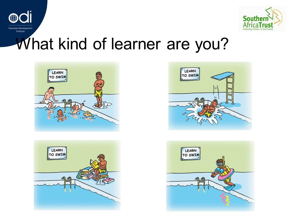 What kind of learner are you