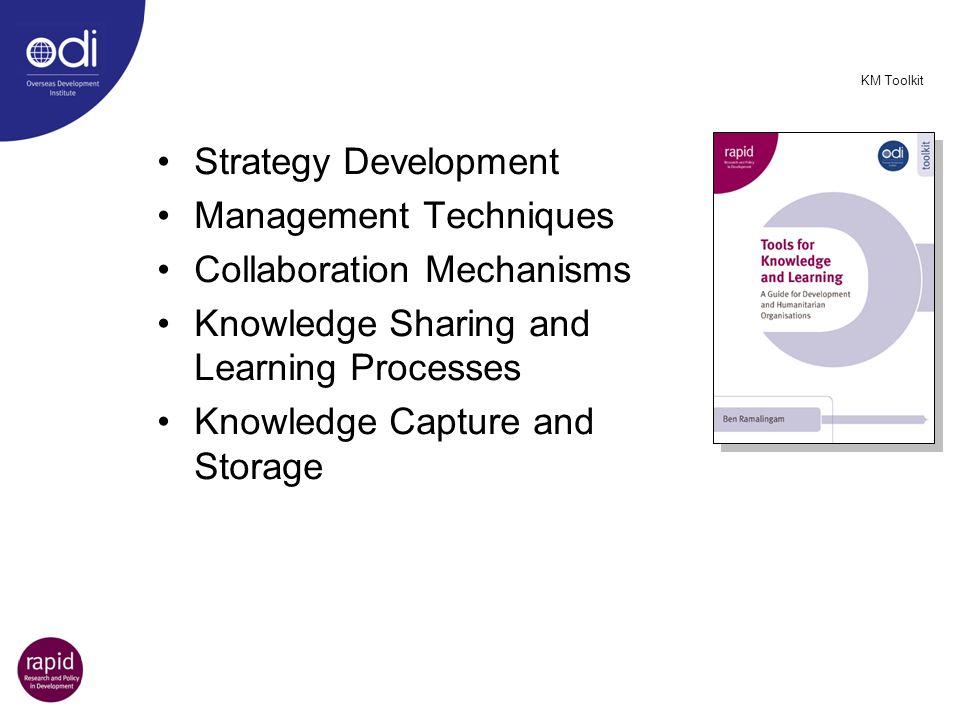 Management Techniques Collaboration Mechanisms