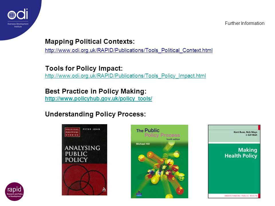 Mapping Political Contexts: