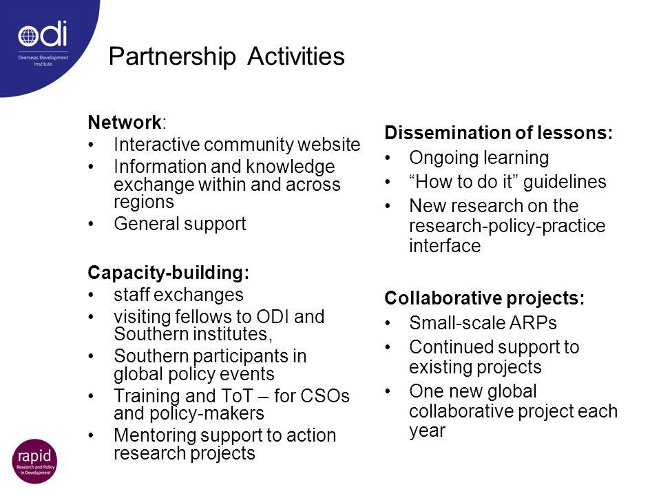 Partnership Activities