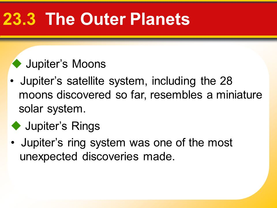 Touring Our Solar System Chapter ppt video online download – Outer Planets Worksheet
