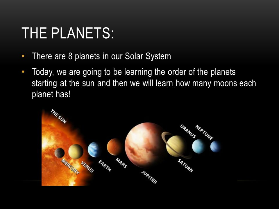 which planets in our solar system have moons and how many - photo #38