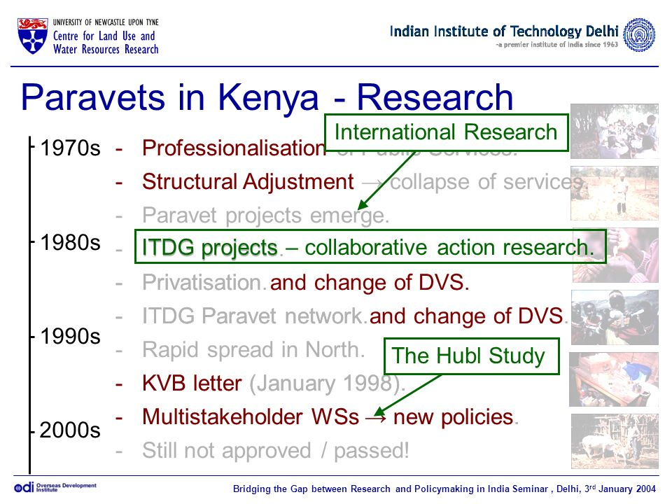 Paravets in Kenya - Research
