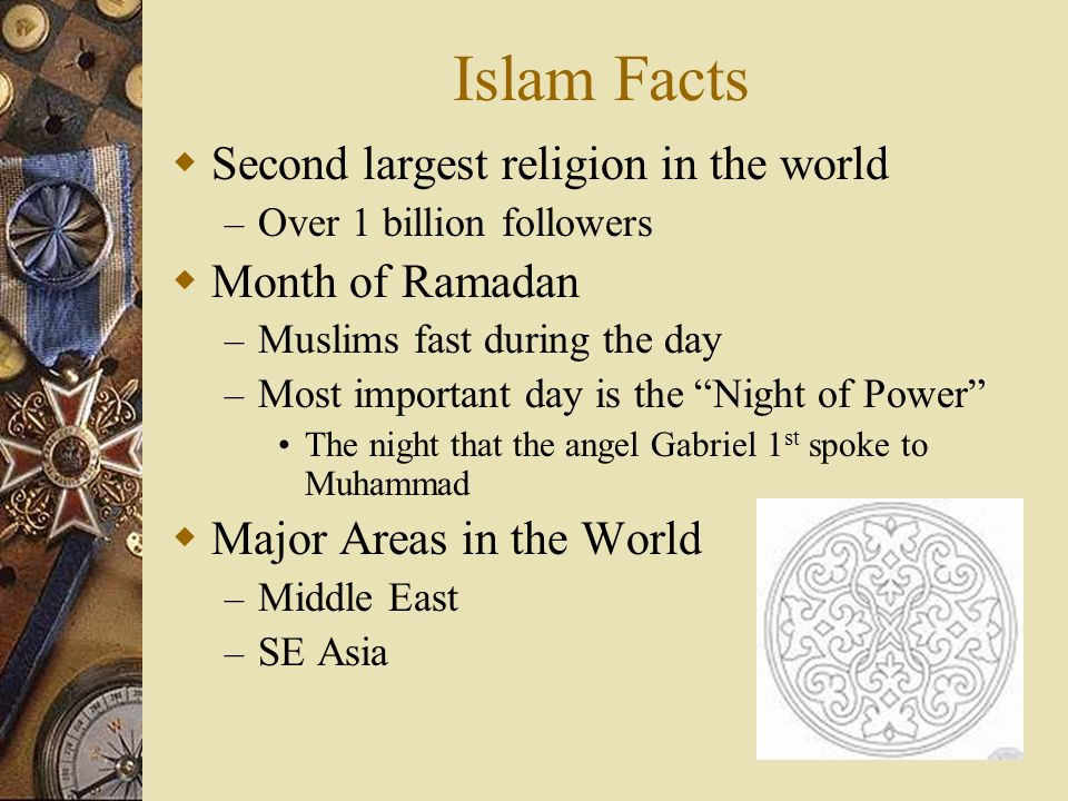 The Major Religions Of The World Ppt Video Online Download - Second religion in the world