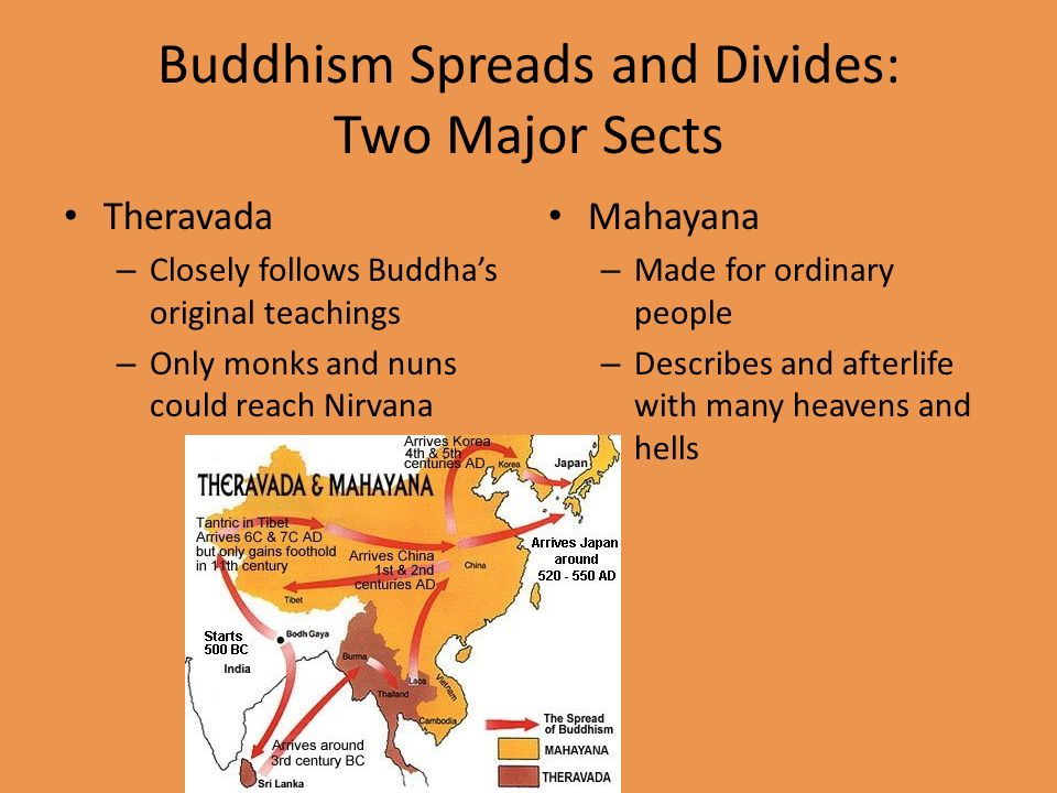 compare and contrast theravada and mahayana buddhism essay Web resources on the different forms of buddhism in this section we'll contrast the three dominant strains of buddhism: theravada, mahayana these essays are.