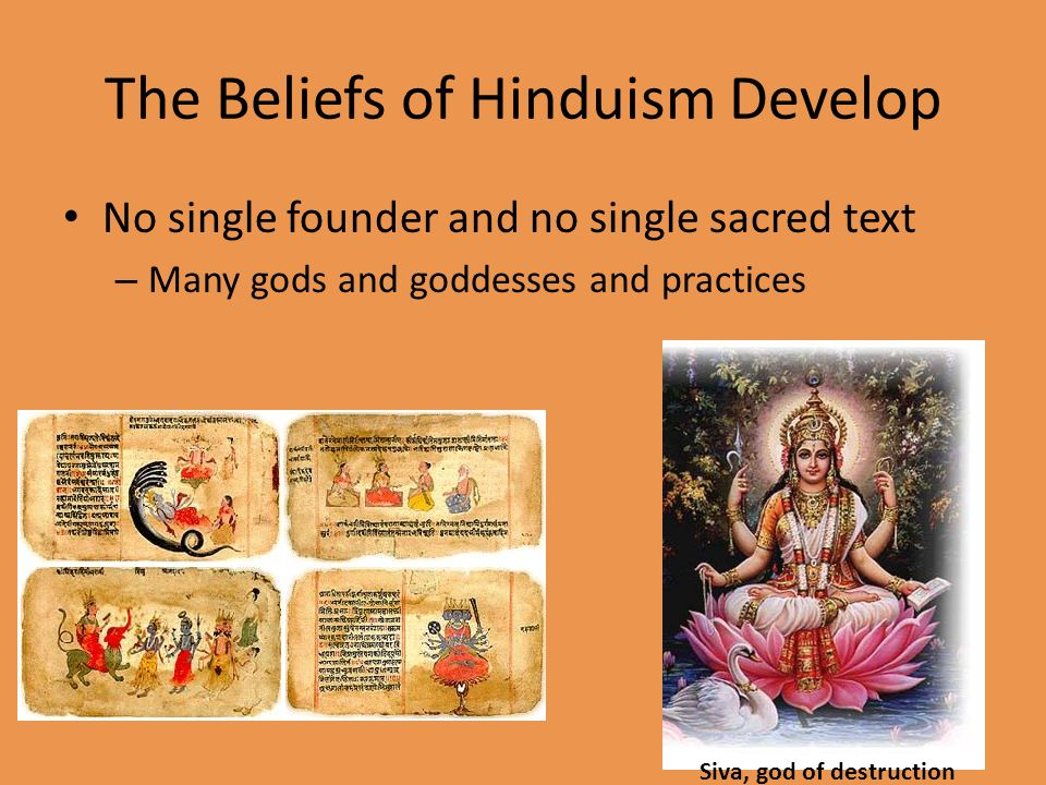 the differentiation of beliefs in hinduism