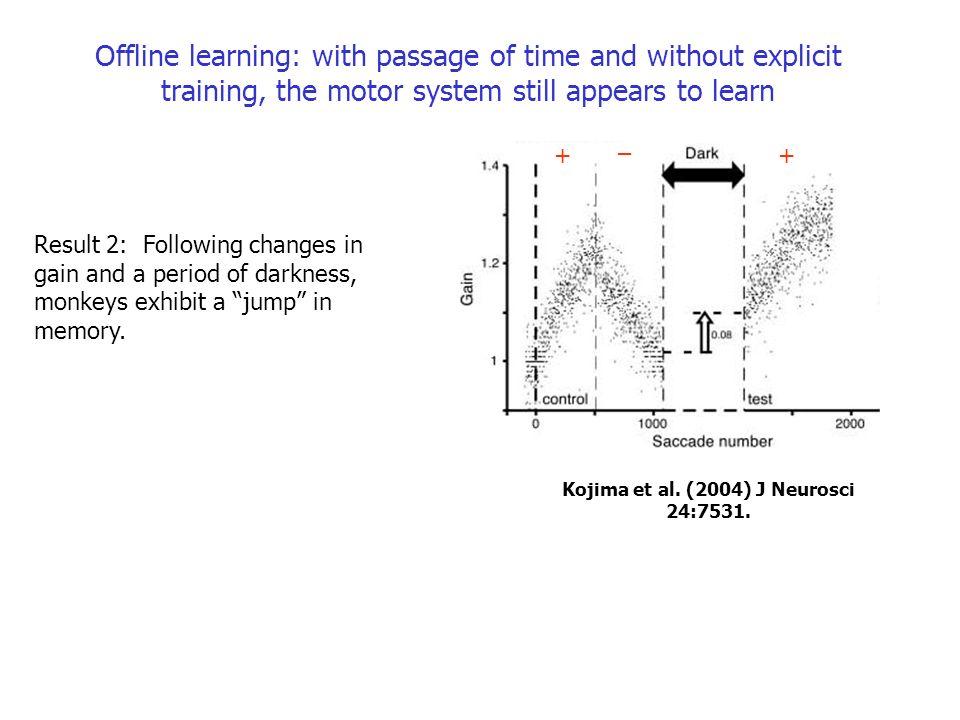 Kojima et al. (2004) J Neurosci 24:7531.