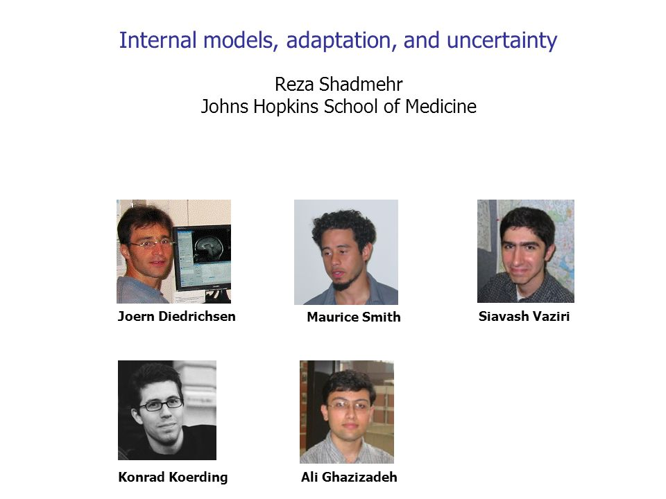 Internal models, adaptation, and uncertainty