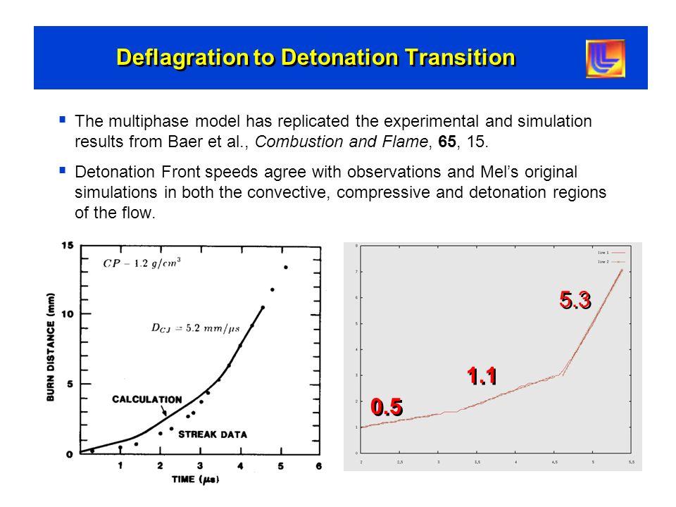 Deflagration to Detonation Transition