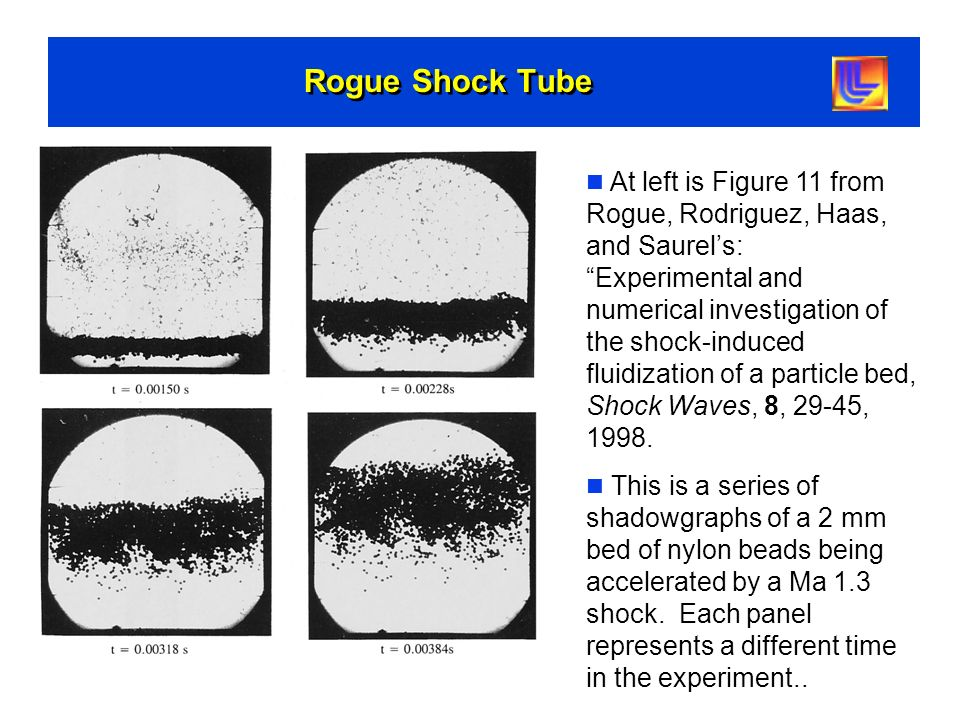 Rogue Shock Tube