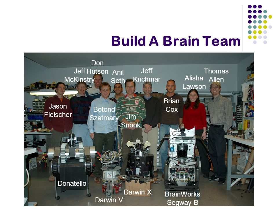 Build A Brain Team Jason Fleischer Jeff McKinstry Don Hutson Botond