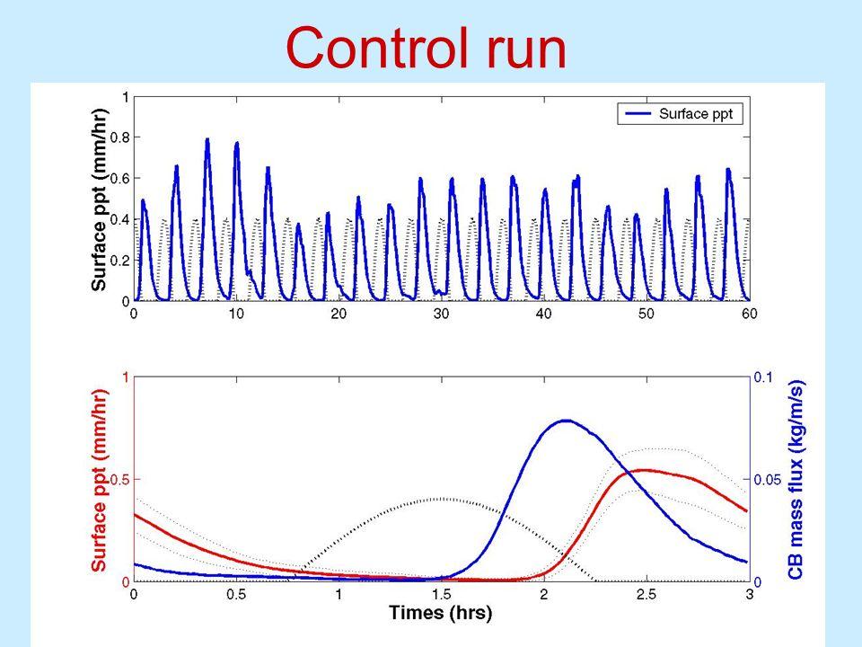 Control run