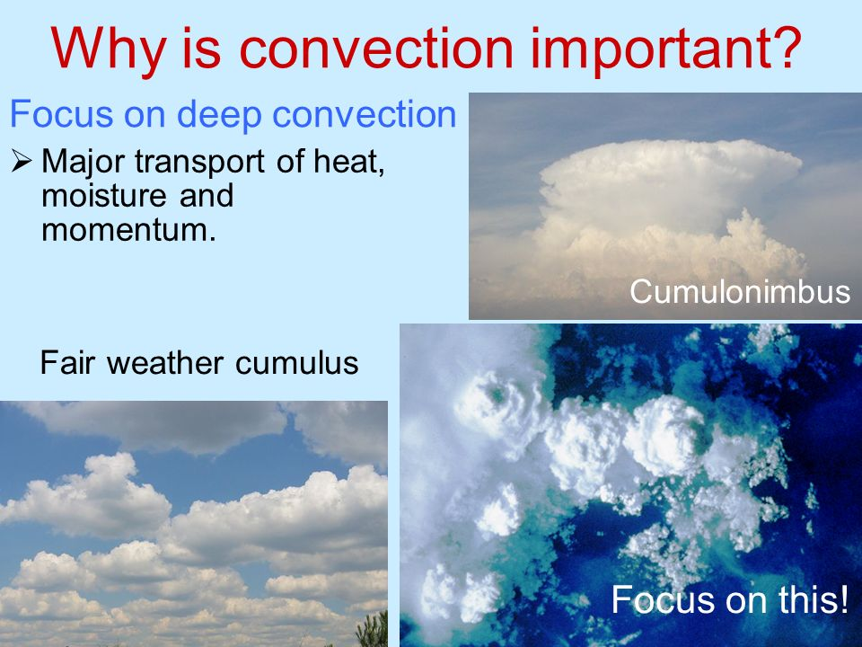 Why is convection important