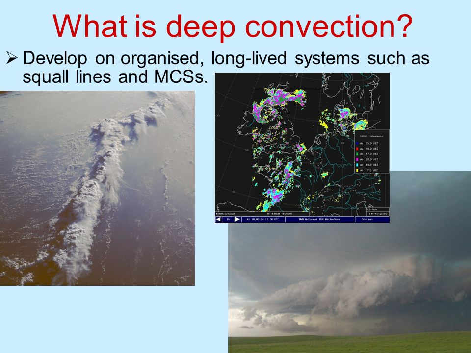 What is deep convection