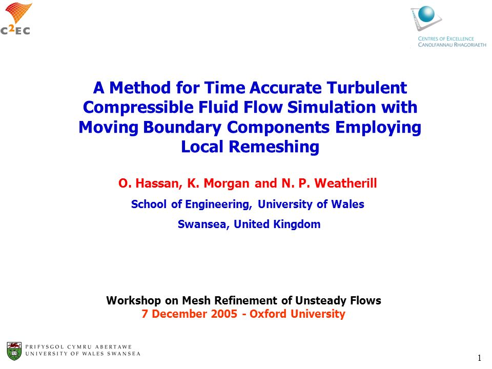 A Method for Time Accurate Turbulent Compressible Fluid Flow Simulation with Moving Boundary Components Employing Local Remeshing