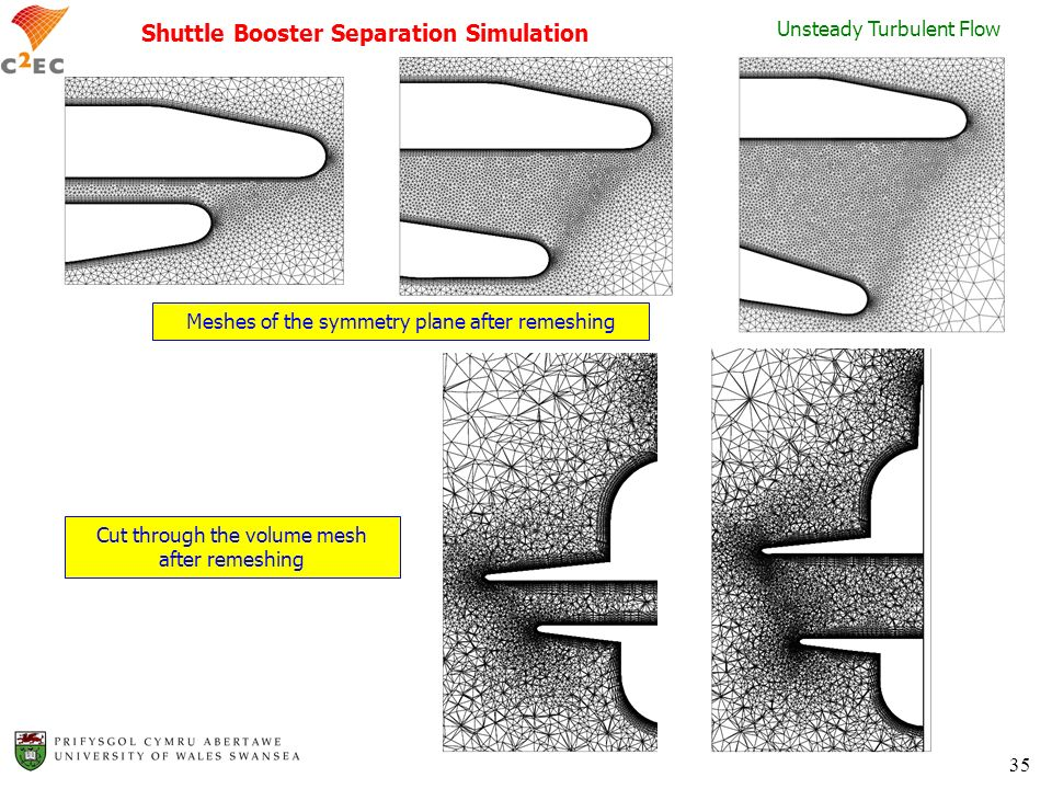 Shuttle Booster Separation Simulation