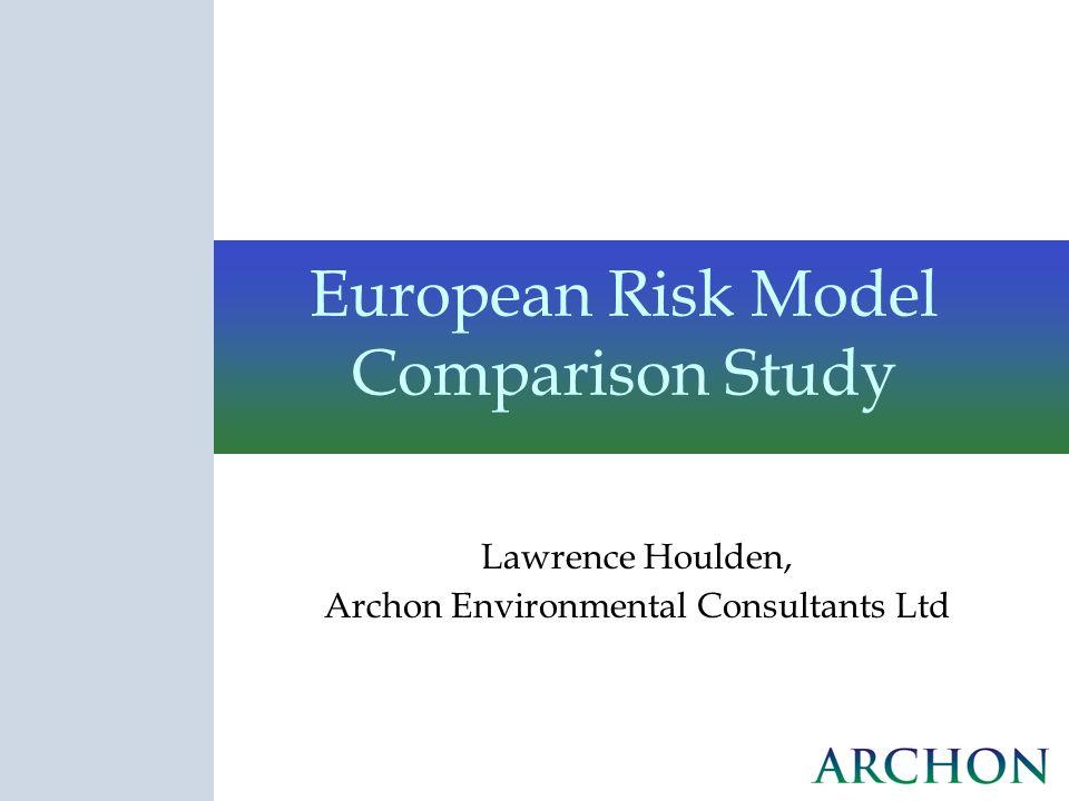 European Risk Model Comparison Study