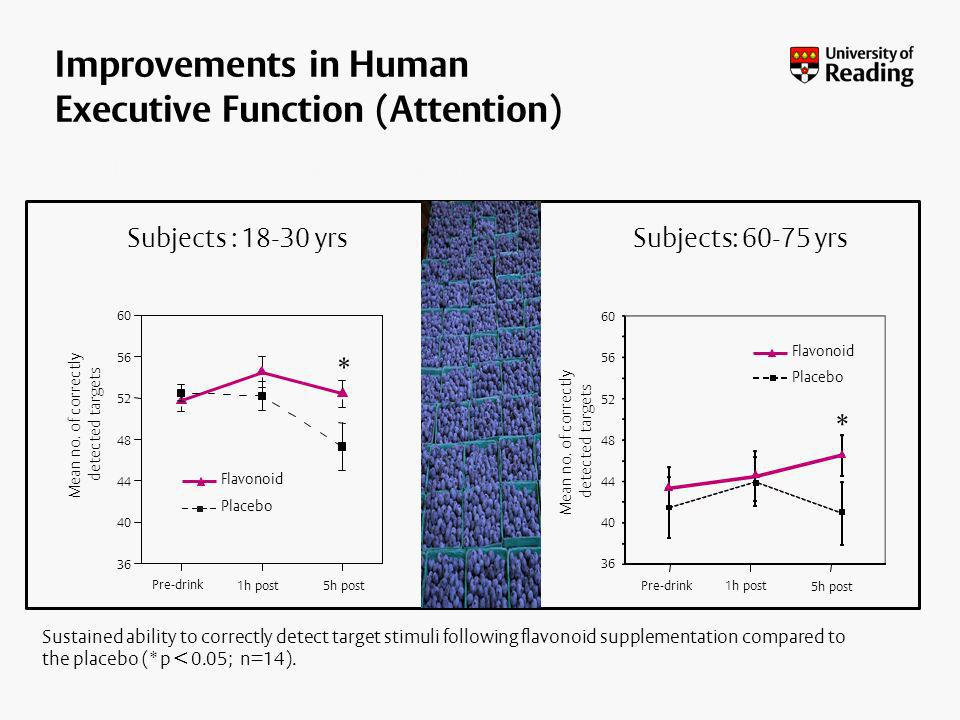 Improvements in Human Executive Function (Attention)