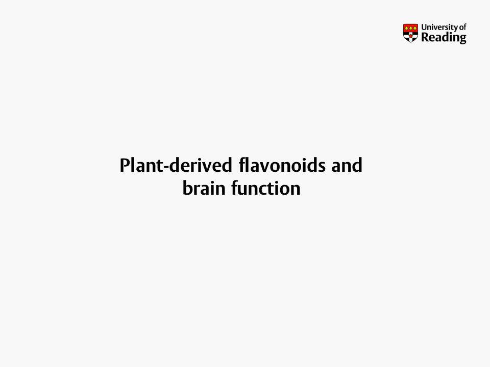 Plant-derived flavonoids and