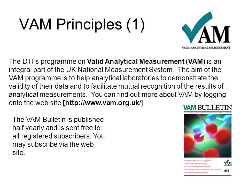 VAM Principles (1)