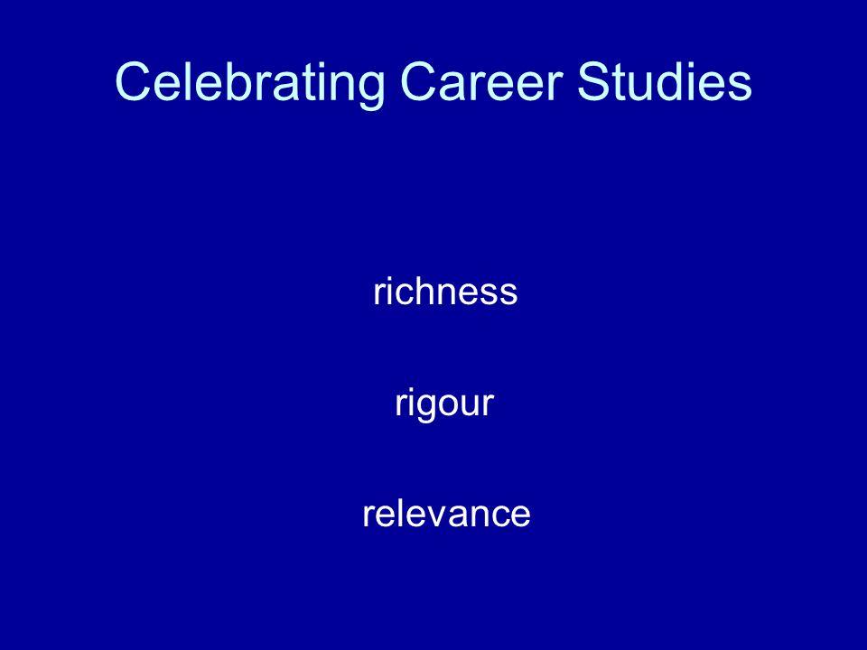 Celebrating Career Studies