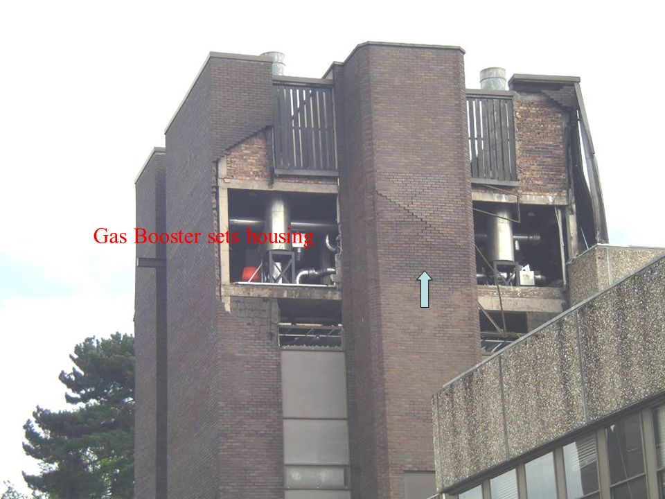 Gas Booster sets housing